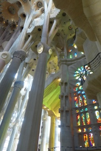 Sagrada Familia in Barcelona, Spain