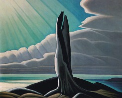 North Shore Lake Superior by Lawren Harris