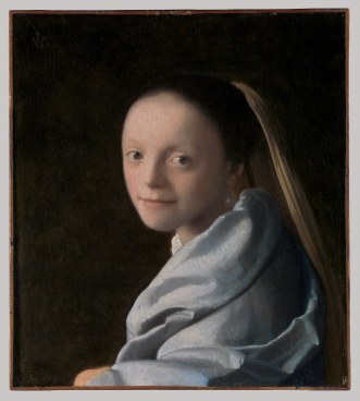 Study of a young woman