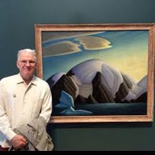 Steve Martin and Lawren Harris