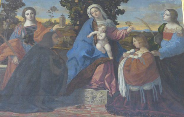 Madonna and Child, Lorenzo Lotto