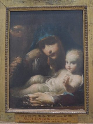 Madonna and Child, Crespi, in the Vatican