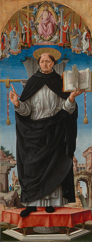 Francesco del Cossa, about 1435/6 - about 1477/8 Saint Vincent Ferrer probably about 1473-5 Egg on poplar, 153.7 x 59.7 cm Bought, 1858 NG597 http://www.nationalgallery.org.uk/paintings/NG597