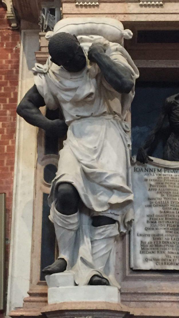 Monument to Doge Giovanni Pesaro 1669, Basilica dei Frari, Venice