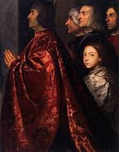 Madonna di Ca' Pesaro, Titian (detail)