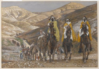The Magi Journeying, Tissot, 1886-1894, Brooklyn Museum