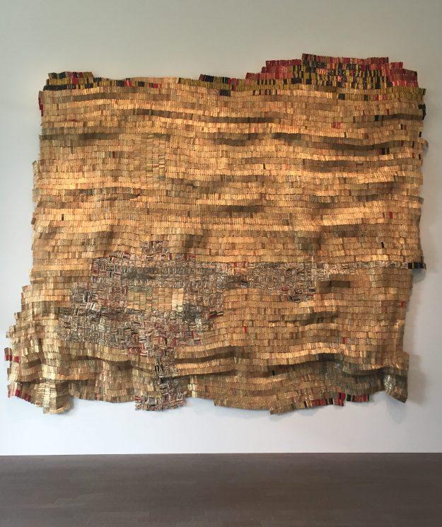 Hovor II, 2004 Ewe people/El Anatsui (Terry Vatrt image)