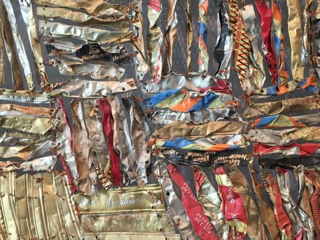 Hovor II (detail), 2004 Ewe people/El Anatsui (Terry Vatrt image)