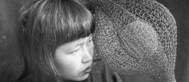 Ruth Asawa (Imogen Cunningham image)
