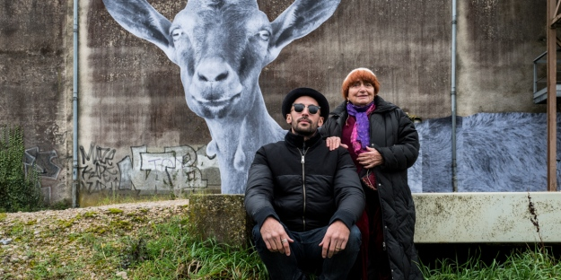 Agnès Varda and JR (IMDb.com image)