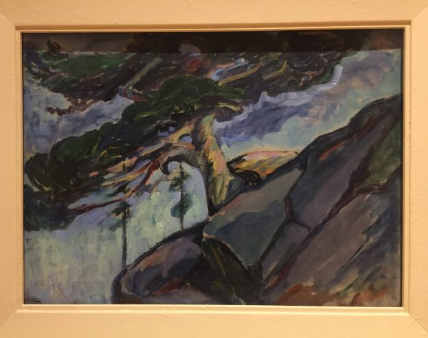 untitled (Tree on a Rocky Profile) 1922-25 Emily Carr