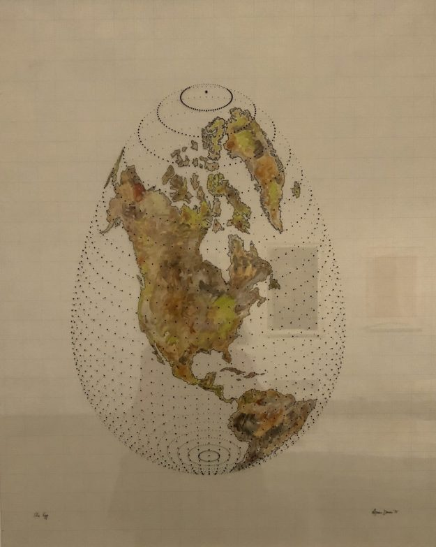 Map Projections, Agnes Denes