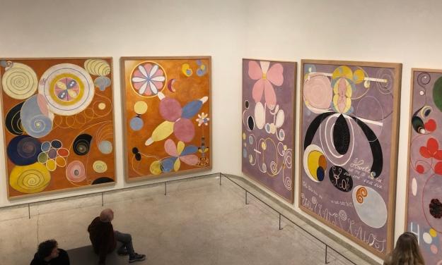 Hilma af Klint, Guggenheim Museum, December 2019