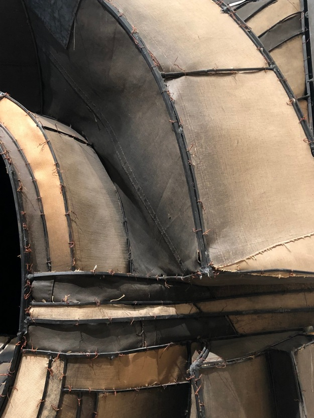 Untitled (detail), Lee Bontecou, 1961, MoMa