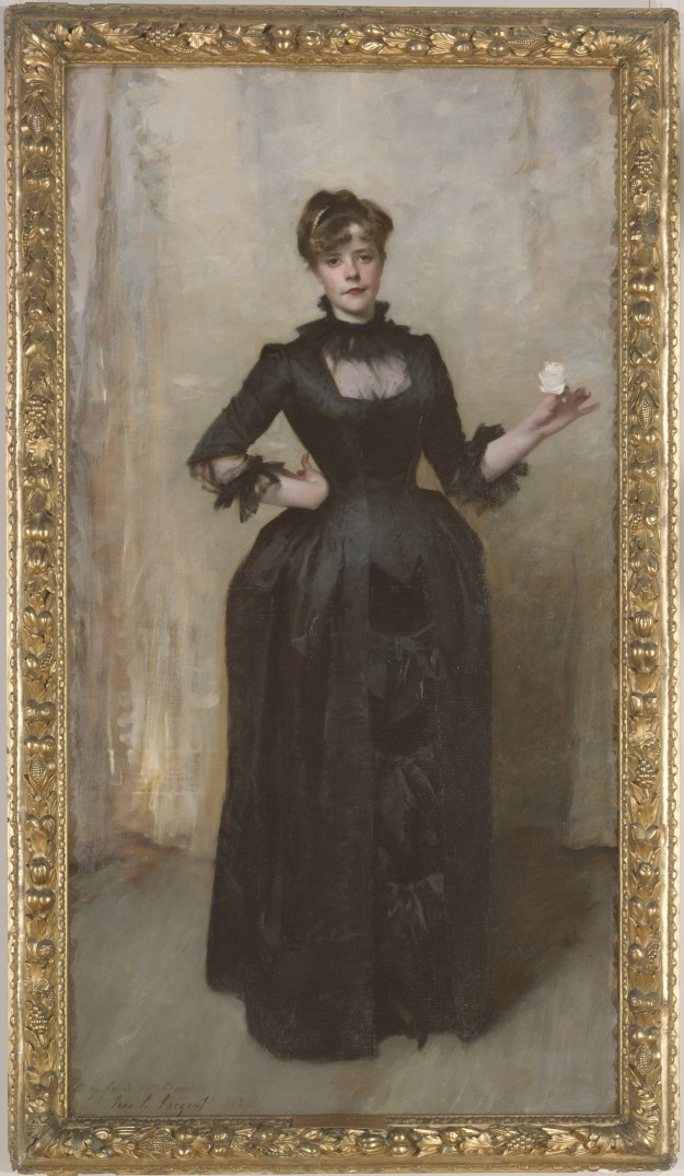 Lady with the Rose (Charlotte Louise Burckhardt), John Singer Sargent, 1882